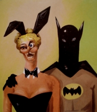 George CONDO   Batman and Buny    2004    81x71