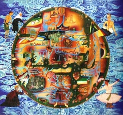 Mappa Mundi : searching for layla - another work from Gulam's City series