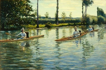 Boating on the Yerres (Perissoires sur l'Yerres)