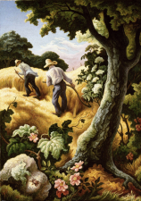 Working Title/Artist: Thomas Hart Benton: July HayDepartment: Modern and Contemporary ArtCulture/Period/Location: HB/TOA Date Code: Working Date: photography by mma, Digital File: DT1319.tif retouched by film and media (kah) 10_27_14