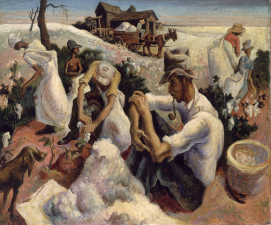 Working Title/Artist: Thomas Hart Benton: Cotton Pickers, GeorgiaDepartment: Modern and Contemporary ArtCulture/Period/Location: HB/TOA Date Code: Working Date: photography by mma, Digital File: DT289710.tif retouched by film and media (kah) 10_27_14